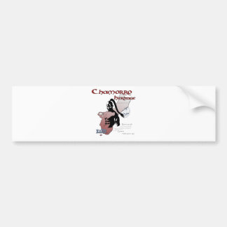 Chamorro Spirit copy Bumper Sticker