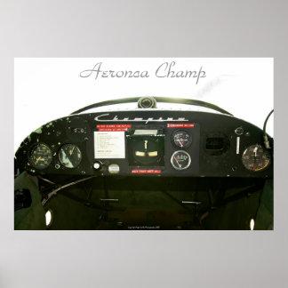 Champ Cockpit Print