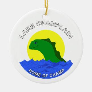 Champ Round Ceramic Decoration
