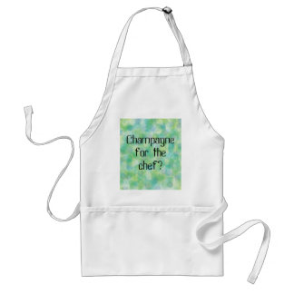 Champagne and City Lights Standard Apron