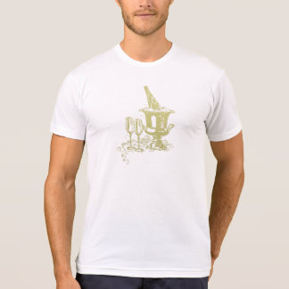 Champagne and Glasses Art Shirt