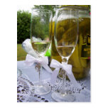 Champagne and Pickles Postcard