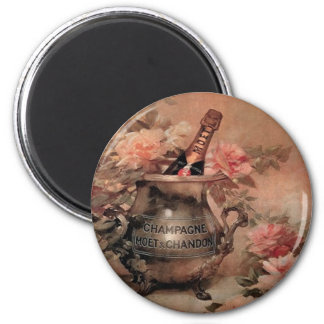 Champagne and Roses Magnet