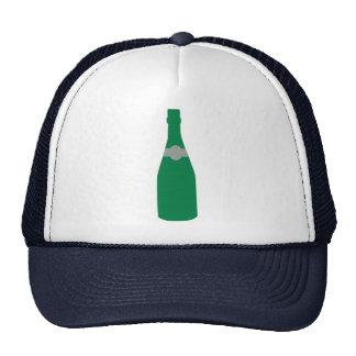 Champagne bottle mesh hats