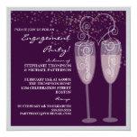 Champagne & Bubbles Engagement Party Invitation