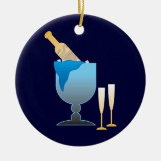 Champagne Bucket Ornament