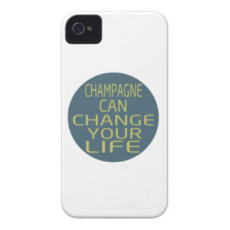 Champagne Can Change Your Life iPhone 4 Cover