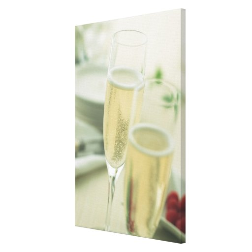Champagne Canvas Prints