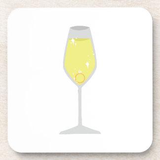 Champagne Beverage Coaster