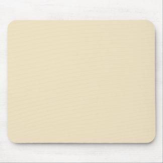Champagne, Cream Pattern. Chic Fashion Color Trend Mouse Pad