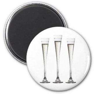 Champagne flutes Magnet
