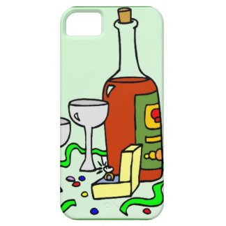 Champagne for the engagement party iPhone 5 case