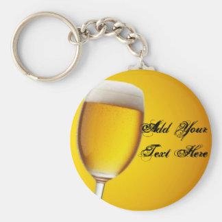 Champagne Glass Keychain
