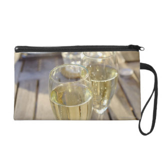 Champagne glasses wristlet
