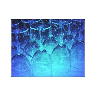 Champagne Glasses Canvas Print