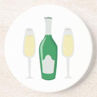 Champagne Glasses Coaster