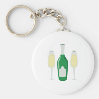 Champagne Glasses Keychains
