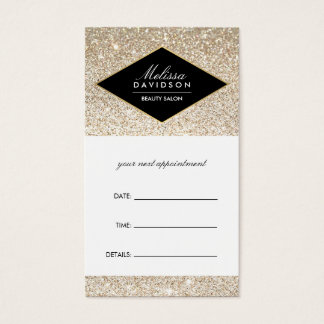 Champagne Gold Glitter and Glamour Appointment