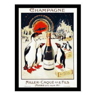 Champagne Miller-Caque & Fils Postcard