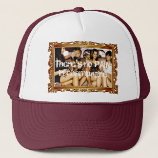 Champagne party trucker hat