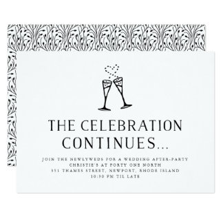 Post Wedding Reception Invitations Amp Announcements