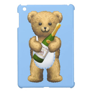 Champagne Teddy Bear Cover For The iPad Mini