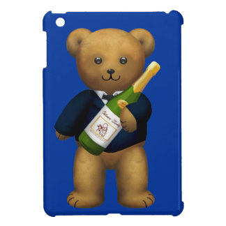 Champagne Teddy Bear iPad Mini Covers