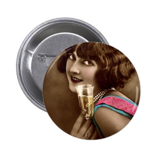 Champagne Toast Pin
