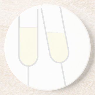 Champagne Toast Drink Coaster