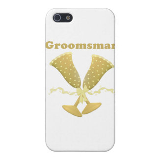Champagne Toast Groomsman Gift Case For iPhone 5