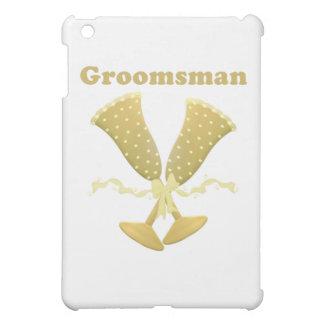 Champagne Toast Groomsman Gift iPad Mini Cases