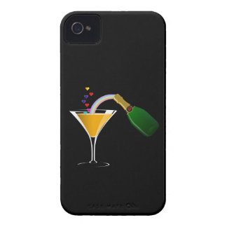 Champagne Toast iPhone 4 Case-Mate Case