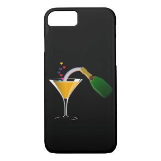 Champagne Toast iPhone 7 Case