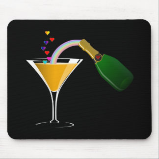Champagne Toast Mousepads