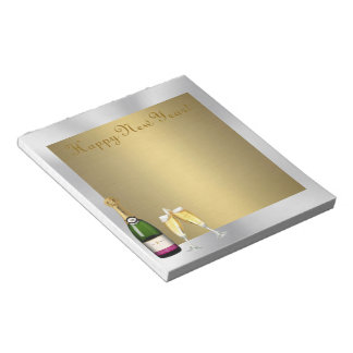 Champagne Toast Notepads