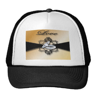 Champagne Wedding Save the date and Favor Trucker Hats