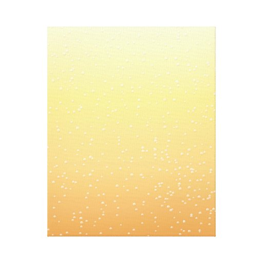 Champagne with Tiny Bubbles Background Art Canvas Prints