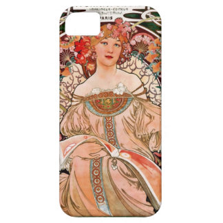 Champagne Woman - F. Champenois Imprimeur Barely There iPhone 5 Case