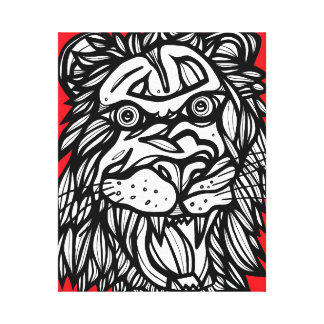 Champion Broad-Minded Energized Polished Stretched Canvas Print