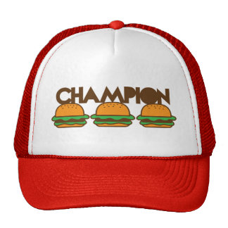 CHAMPION BURGERS yum! Cap