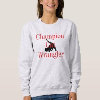 """Champion Cat Wrangler"" Sweatshirt"