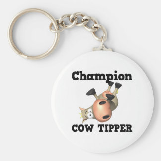 Champion Cow Tipper Key Chains