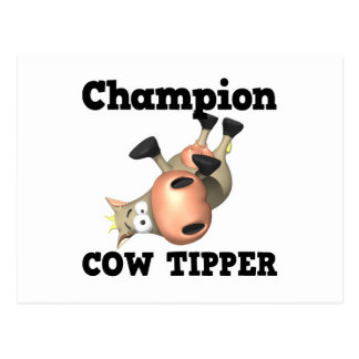 Champion Cow Tipper Post Cards