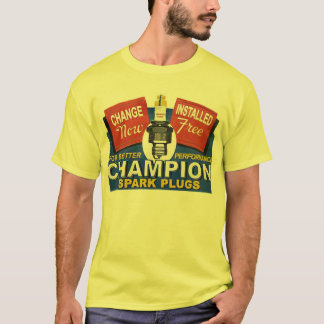 champion spark plugs T-Shirt