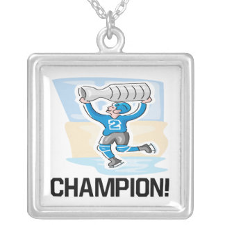 Champion Square Pendant Necklace