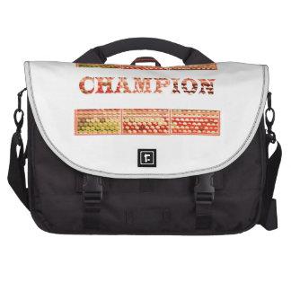 CHAMPION Text Laptop Messenger Bag