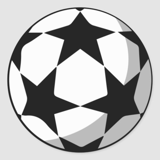 Champions League Ball Stickers