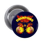 Champions Spain Europe 2008 World 2010 6 Cm Round Badge