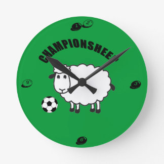championsheep round clock