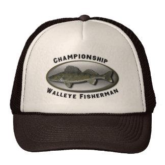 Championship Walleye Fisherman Cap